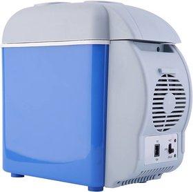 Tradeaiza TT1002 Cooling  Warming 7.5 L Car Refrigerator (Blue, Grey) 7 L Car Refrigerator