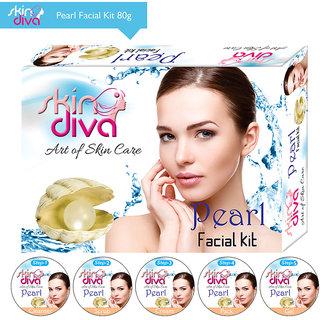 Skin Diva Pearl Facial Kit 80gm