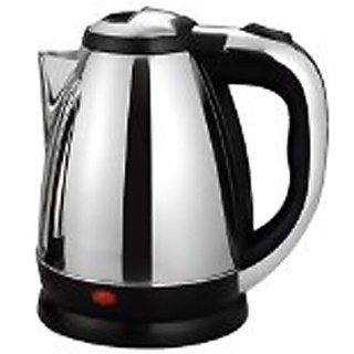 Stainless Steel Electric Kettle (SilverBlack)