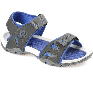 46de4365ac23a Buy P-Toes Kids Grey Blue Sports Sandals Online   ₹499 from ShopClues