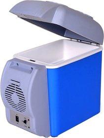 Tradeaiza Cooling  Warming 7.5 L Car Refrigerator  (Blue, Grey)