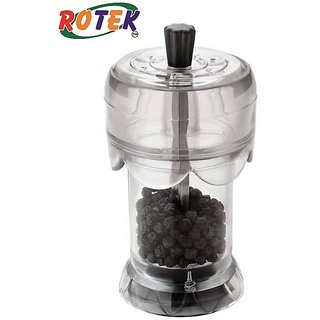 Rotek Pepper Grinder Transparent See Through Cum Storage Sprinkler Container