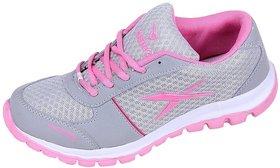 Orbit Sport Running Shoes LS005 Grey Pink