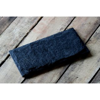 Natural Black Slate Platter 12 x 6 inches