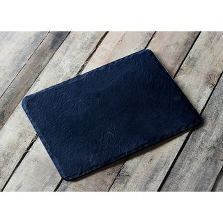 Black Slate Rectangle Platter - 16x12 inches