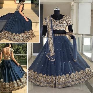 Buy Salwar Soul Womens New Designer Gray Colour Latest Party Festive