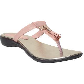 Msc Women'S Pink Flat