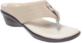 Msc Women'S Cream Heels