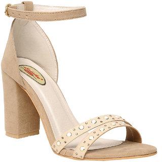 Msc Women'S Cream Stilettos
