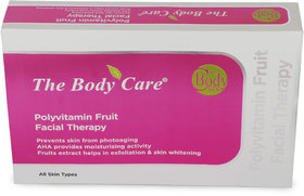 POLY VITAMIN FRUIT FACIAL KIT- 45GM  By The Body Care