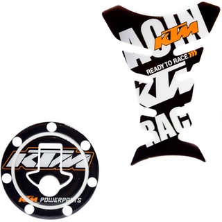 Spidy Moto Gas Tank Pad / Tank Sticker Protectors Stickers Decals KTM RC 200