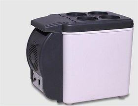 Tradeaiza Cooling  Warming 6 L Car Refrigerator (Blue, Grey)-004
