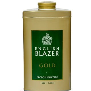 English Blazer Gold Talc 150 gm