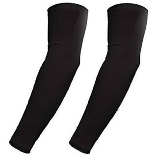 BLACK BIKING ARM SLEEVES (PAIR OF 3)