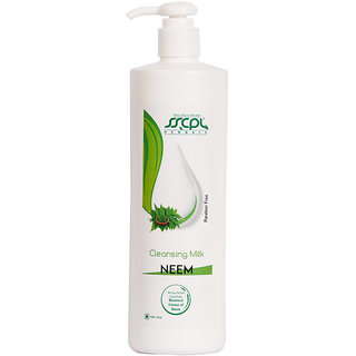 Neem Cleansing Milk (500ml) By SSCPL HERBALS