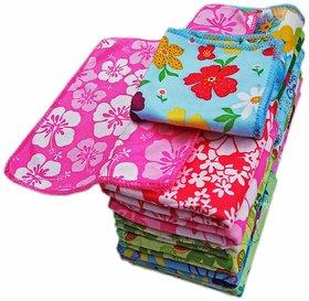xy decor 4 cotton towel (11x11) multicolour