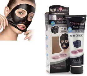 Charcoal Anti Blackhead Suction Peel Off Mask Cream - 130g