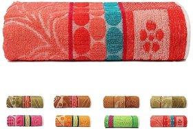 xy decor cotton bath towel (30x60) multicolor