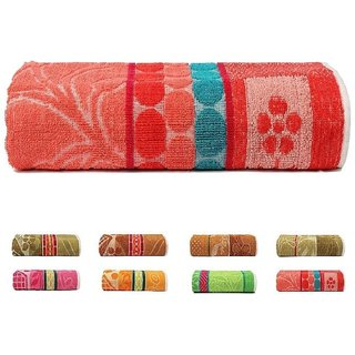 xy decor cotton bath towel (30x60) multicolor