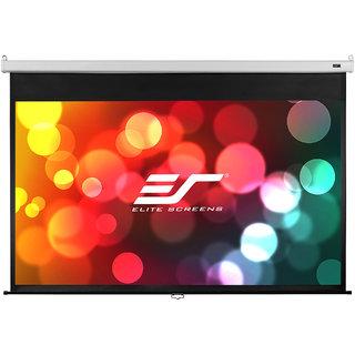 Elite Screens Manual Pull Down Screens 120 DIAGONAL 43 Aspect Ratio
