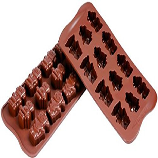 Okayji Silicone Chocolate Molud Robot