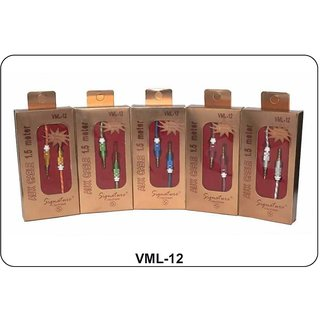 Signature VML-12 Aux Cable 1.5 Meter long (Assorted Colors)