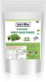 Vetra Organic Wheatgrass Powder - 500 Grams