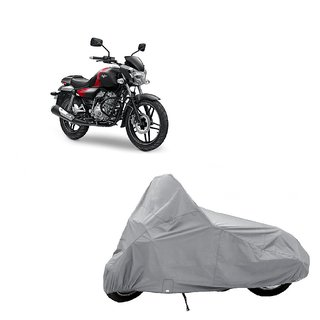 AutoAge Two Wheeler Silver Cover for TVS Scooty Pep+