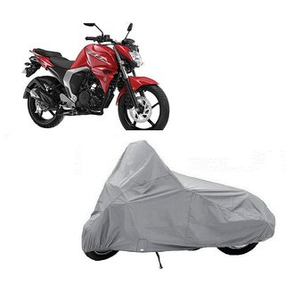 AutoAge Two Wheeler Silver Cover for Yamaha  FZ