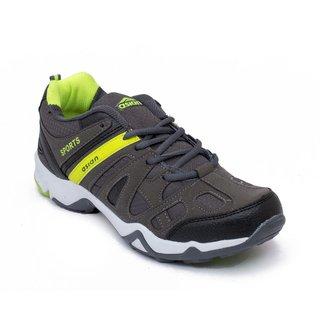 Asian Apple-04 Grey Green Runnning Shoe For Men