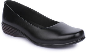 Naisha Women's Black Formals Shoes