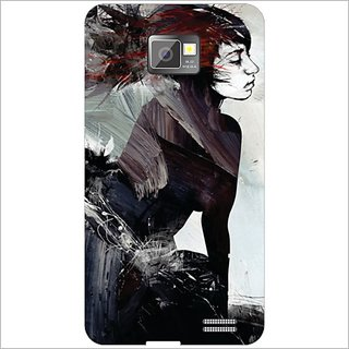 Printland Back Cover For Samsung I9100 Galaxy S2