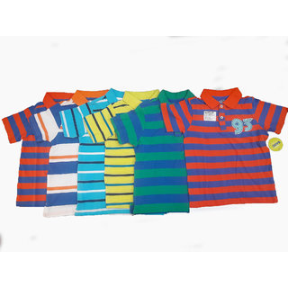 67efed24d Buy Design Plus Kids Printed Cotton Tshirts Combo-Pack Of 6 Online ...