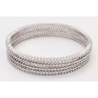 La Belle Vie 925 Sterling Silver Bangle For Women (PC-871)