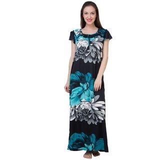 d47076b6de3 Buy Adonia Green Satin Printed Night Gowns Nighty Online - Get 0% Off