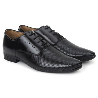 cb1160a641f Buy Buwch formal black shoe for men boys Online   ₹499 from ShopClues