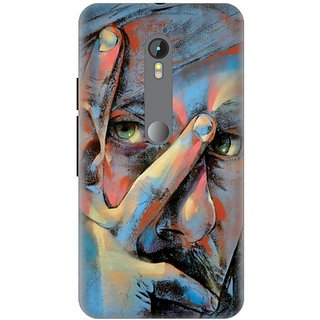 Printland Back Cover For Motorola Moto G Turbo