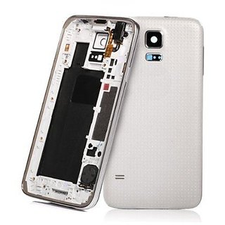 New Full Housing Body Panel - For Samsung Galaxy s5 - White