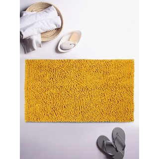Romee Yellow Cotton Bath Mat 20