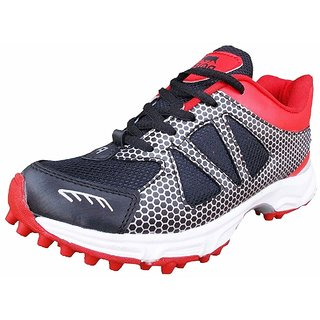 Port Mens Red Cricket Shoes