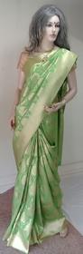 Balaji Paithani Tusser Silk Soft Silk Saree