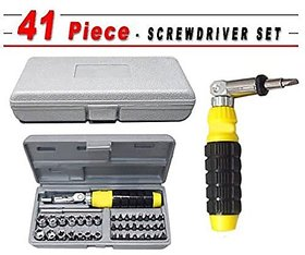 Aiwa Stainless Steel Screwdriver Set No. pieces 41