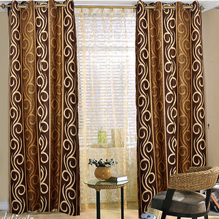 Door Curtain (4x7 feet) cofee a