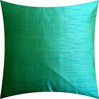 A Pack Of 1 Pc., Vaachie Home 1H021014 SEA GREEN SOLID DESIGN