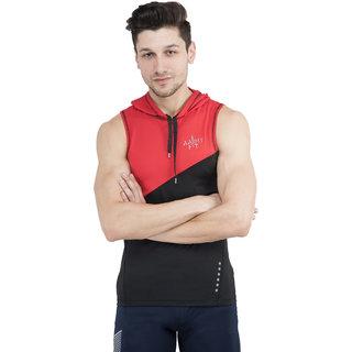 Aarmy fit mens hood t-shirt