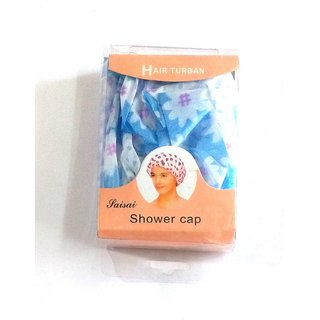 Evershine Shower Cap Free size ( Colors may Vary)
