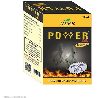 Power Oil Double Power Stemena Booster Power Oil For Massage 100 Result + 10 Nergra Capsule Free (NERR)