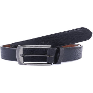 Abloom mens Black formal Belt