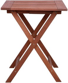 Outdoor Multipurpose Table in Natural Brown Finish by Aura