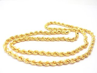 Sparkling Jewellery Gold Plated Gold Alloy Chain (22 inches) for Women